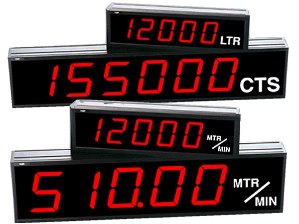 Large Digit Counters & Rate Displays
