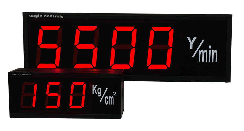 Large Digital Rate Displays