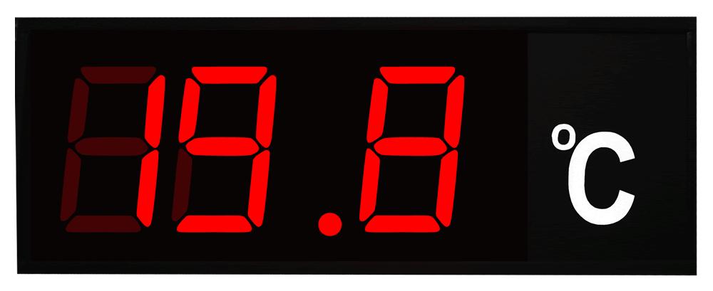 Industrial Large Digital Temperature Display C
