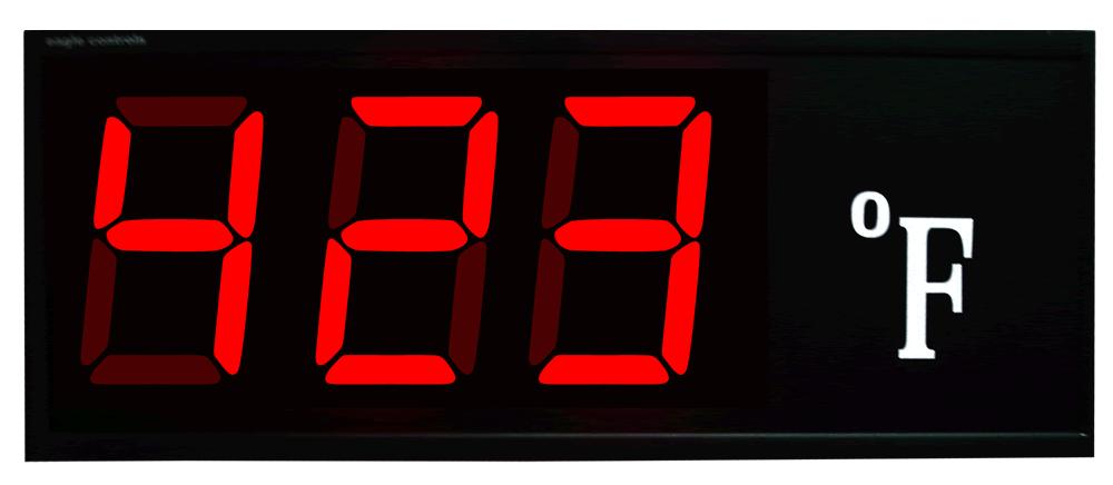 Industrial Large Digital Temperature Display F