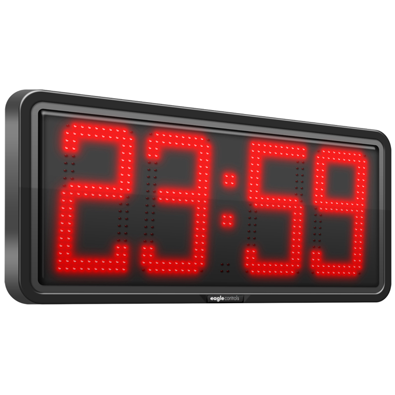 Large Digit Clock Displays Show real time and are Ideal for