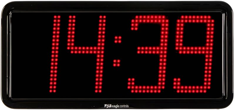 LED Clock 4 digit EA15-20 6 - 8 inch