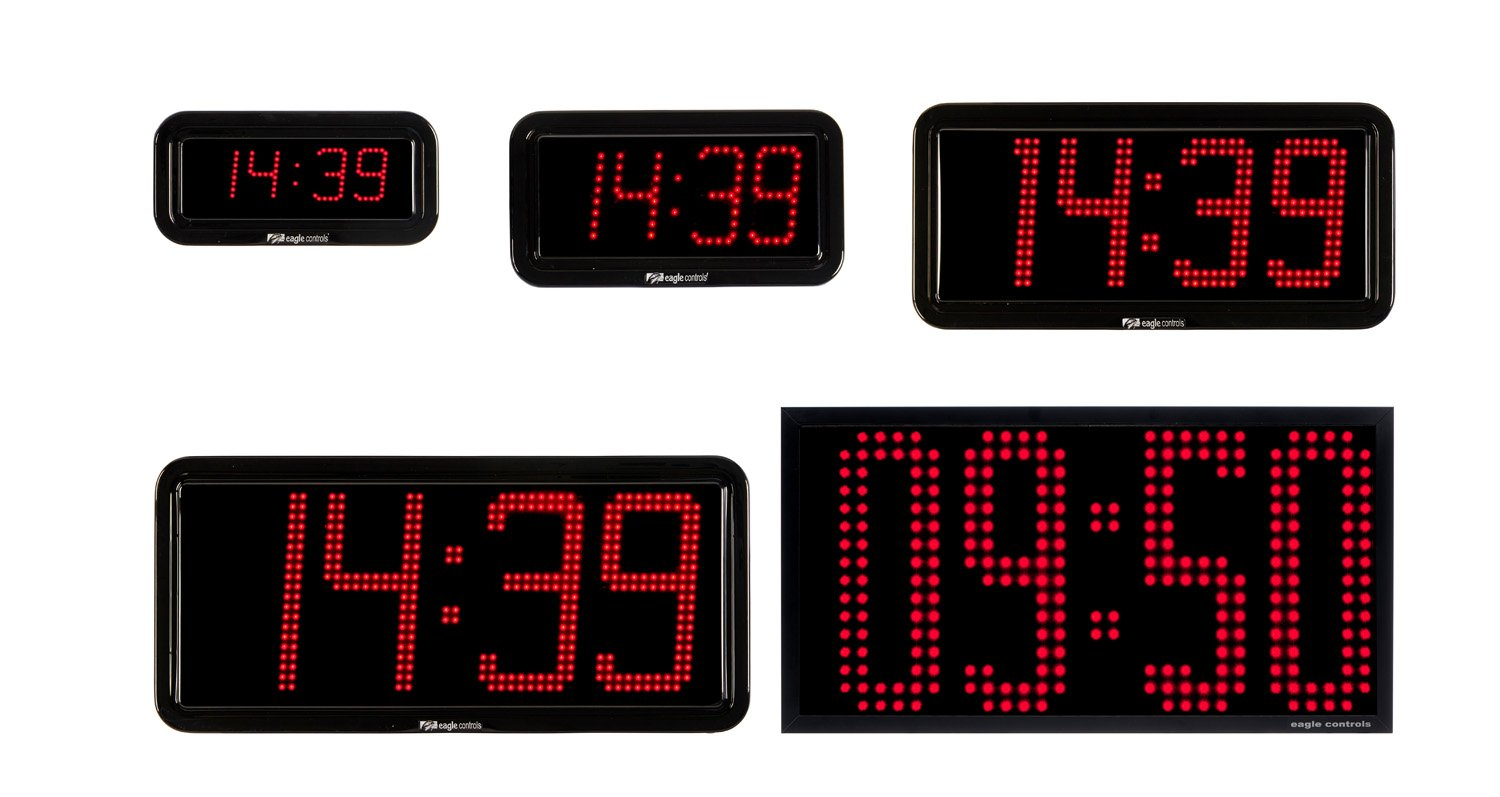 LED Clock EA-5 EB-5