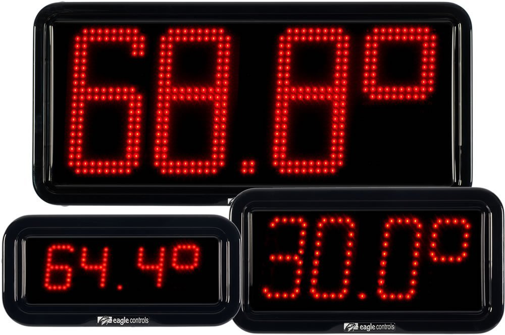 LED Temperature Displays Group Commercial